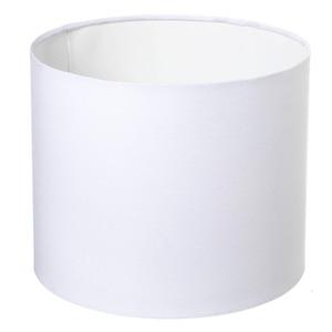 Cúpula de abajur Tecido Branca Espaço Luz