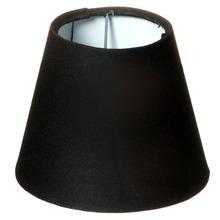 Cúpula de abajur Tecido Preta Espaço Luz