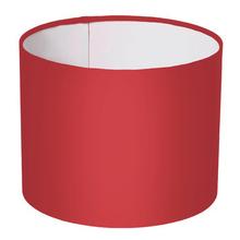 Cúpula Inspire G Cilíndrico Tecido Vermelho Liso