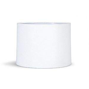 Cúpula Grande Branca Tecido 30x35cm Primor