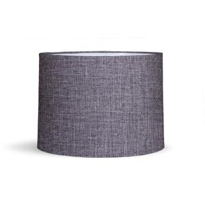 Cúpula Grande Cinza Tecido 30x35cm Primor