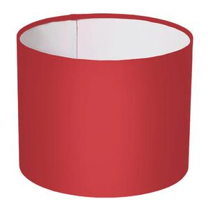 Cúpula Inspire M Cilíndrico Tecido Vermelho Liso