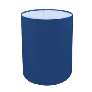 Cúpula Inspire Média Alta Cilíndrica Tecido Azul Índigo