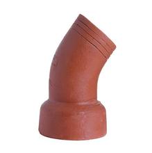 """Curva 45° Cerâmica Esgoto 100mm ou 4"""" Cerâmica Martins"""