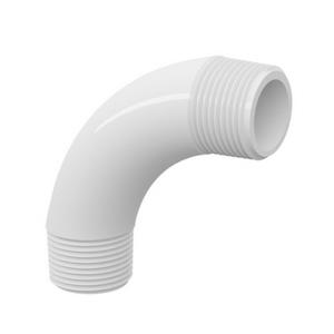 """Curva 90° Branca PVC Água Fria 60mm ou 2"""" Tigre"""