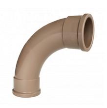 "Curva 90° Marrom PVC Água Fria 60mm ou 2"" Plastilit"