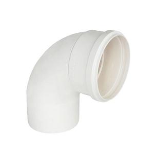 "Curva 90° PVC Esgoto 100mm ou 4"" Plastilit"