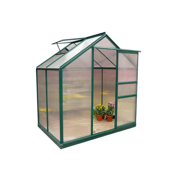 Dep sito para jardim alum nio g1001f b 192x190x201cm verde for Deposito agua leroy merlin