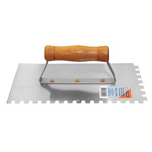 Desempenadeira Aço dentada cabo fechado 25,6x12cm Dexter
