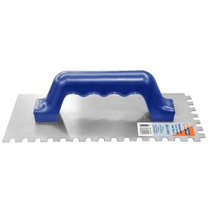 Desempenadeira Aço dentada cabo Plástico 25,6x12cm Dexter