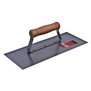 Desempenadeira Aço Lisa 30 x 12 cm