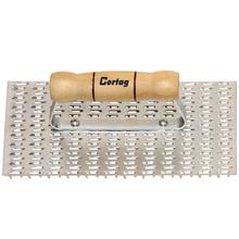 Desempenadeira para raspadeira aço cabo madeira Cortag