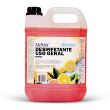 Desinfetante Concent Mirax 5L Citrus