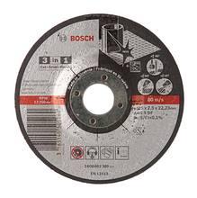 Disco Abrasivo Corte Desbaste Polimento 30 Modelo 3 em 1 Bosch