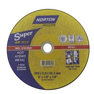 Disco Corte Ar312 229 X 3,0 X 22,22Super - Norton