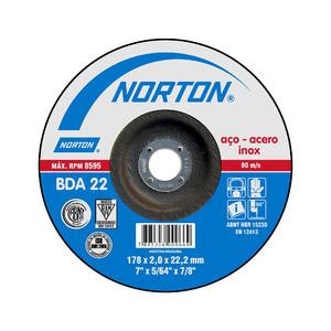 Disco Corte Linha Azul Fino Bda22 177,8X2X22