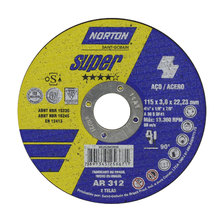 Disco de Corte Ar312 115X3,0X22,22 Super - Norton