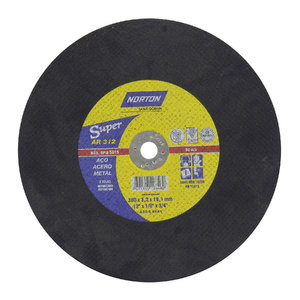 Disco de Corte para aço 300x3,2x19,1 AR312 Norton