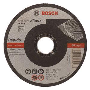 Disco de Corte para Inox 115X1,0mm Gr.60