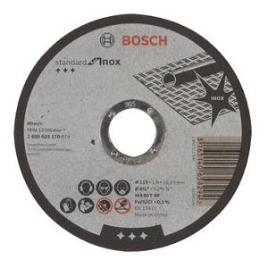 Disco de Corte para Inox 115X1,6mm Gr.60