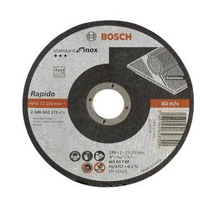 Disco de Corte para Inox 125X1,0mm Gr.60