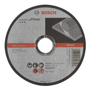Disco de Corte para Inox 125X1,6mm Gr.60