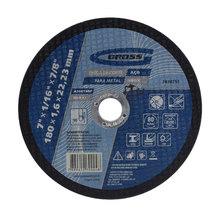 Disco de Corte Para Metal 115x22mm Gross