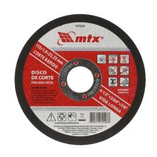 Disco de Corte Para Metal e Inox 115x22mm MTX