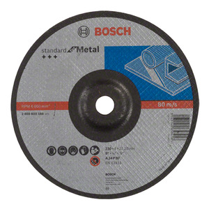 Disco de Desbaste para Metal 230mm Gr.24