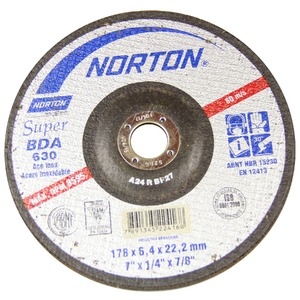 Disco Desbaste Bda640 178X6,4X22,22 Super