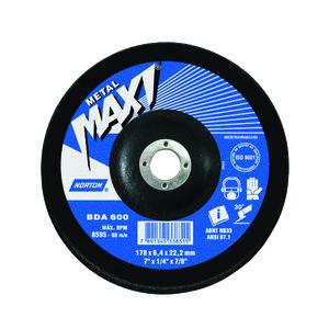 Disco Desbaste Maxi Bda600 178X6,4X22,22