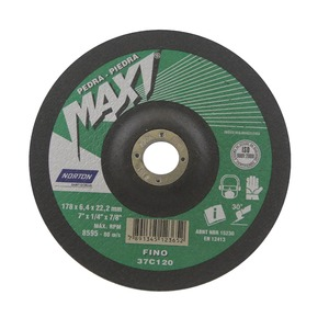 Disco Desbaste  Maxi Bda671 Gr Fino 178X6,4X22