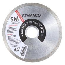Disco Diamantado Aliafor Sm Contínuo Com Solda Laser 105  mm Diâmetro Furo 20  mm