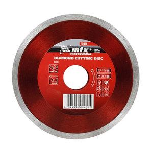 Disco Diamantado Contínuo Para Metal 115x22mm MTX