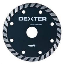 DISCO DIAMANTADO DEXTER TURBO SEGMENTADO S/CORTE DIAMETRO EXTERNO 105,00 MM DIAMETRO FURO 20,00 MM