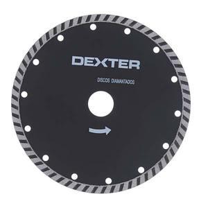 DISCO DIAMANTADO DEXTER TURBO SEGMENTADO S/CORTE DIAMETRO EXTERNO 180,00 MM DIAMETRO FURO 20,00 MM