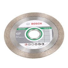 Disco Diamantado para Porcelanato Liso 110mm Bosch