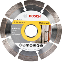 Disco Diamantado Standard Segmentado 105mm Bosch