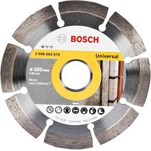 Disco Diamantado Standard Segmentado 105mm Bosch