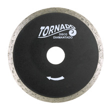 Disco Diamantado Tornado Continuo S/Corte Diametro Externo 105 mm Diametro Furo 20 mm