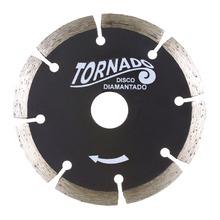 Disco Diamantado Tornado Segmentado C/Corte Diametro Externo 105 mm Diametro Furo 20 mm