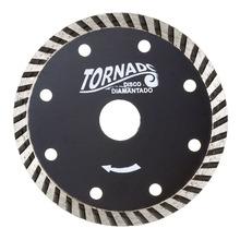 Disco Diamantado Tornado Turbo Segmentado S/Corte Diametro Externo 105 mm Diametro Furo 20 mm