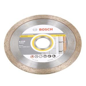 Disco Diamantado Universal Contínuo Liso 110mm Bosch