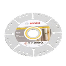 Disco Diamantado Universal Segmentado Multimaterial 110mm Bosch