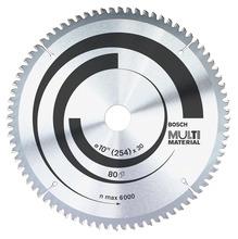"Disco Multimaterial para Serra Circular 10"" 80 Dentes"