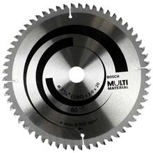 """Disco Multimaterial para Serra Circular 7.1/4"""" 60 Dentes Bosch"""