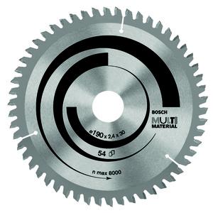 "Disco Multimaterial para Serra Circular 9.1/4"" 80 Dentes"