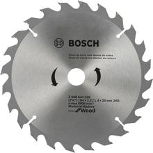 Disco para Serra Circular Eco 184mm 24 Dentes Bosch