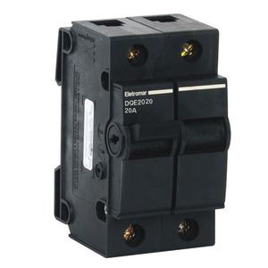 Disjuntor nema bipolar 220v a 380v 20a dqe2020 eletromar - Transformateur 220v 12v leroy merlin ...