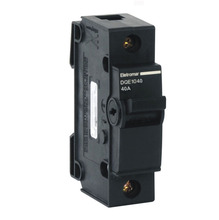 Disjuntor monopolar 40A 127Vca a 220Vca DQE1040 Eletromar